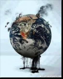 La planète en danger.